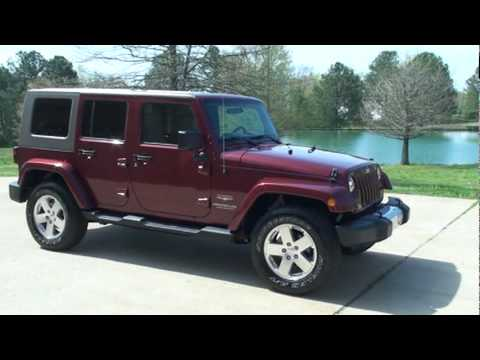 Sold 2008 Jeep Wrangler Unlimited Sahara 4x4 For Sale