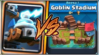 ZAPPIES TROLLING ARENA 1 IN CLASH ROYALE | FUNNY MOMENTS & ZAPPIES GAMEPLAY!