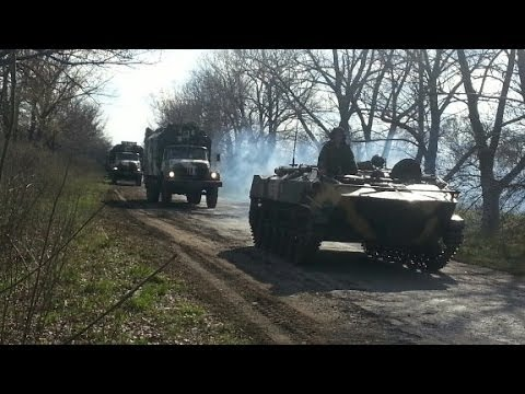 Ukraine: 'Anti-terror operation' begins klip izle