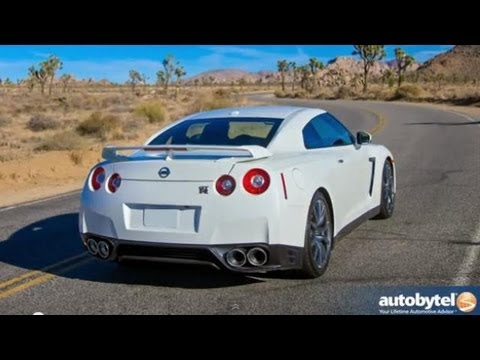 2014 Nissan GT-R R35 Premium Test Drive & Sports Car Video Review