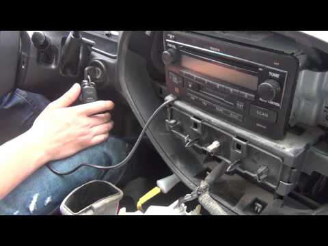 GTA Car Kits - Toyota Tundra 2003-2006 iPod. iPhone and AUX adapter installation