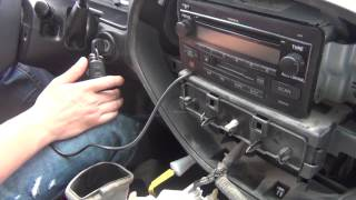 GTA Car Kits - Toyota Tundra 2003-2006 iPod, iPhone and AUX adapter installation