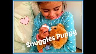 Puppy Snuggles van Little Live Pets: net echt! Reageert op aaien en flesje geven