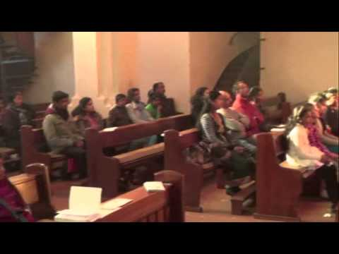 Easter Holy Mass by Fr.Lawrence at Hamburg, Germany on 31.03.2013 part 1 of 3