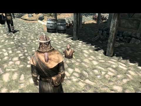 Skyrim Bug - Strange Sigurd