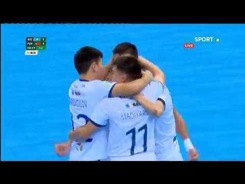 КАЗАХСТАН 3:2 Португалия. ФУТЗАЛ. Чемпионат мира среди студентов
