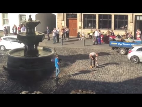 Boy takes down hate preacher in the most Scottish way possible