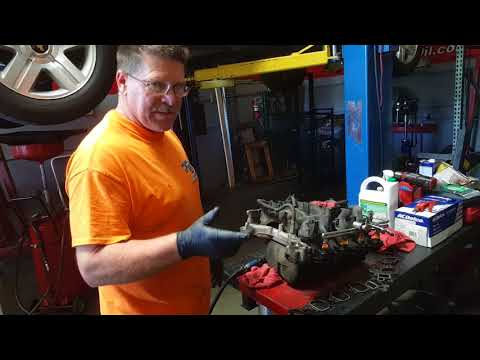 Additional information on Ford Triton intake manifold coolant leak. 4.6. 5.4. 6.8 engines
