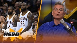 Kyrie Irving wants to leave LeBron James - who will get the better end of the deal? | THE HERD