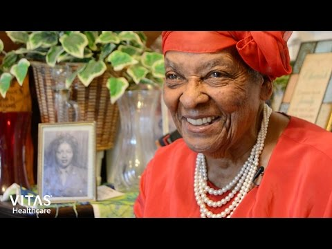 VITAS Healthcare Honors WWII Veteran Rosa Sanders Moore and Women in the Military