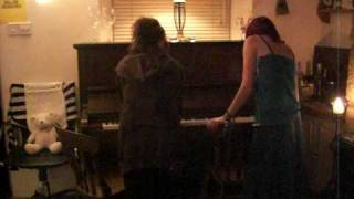 Lucy and Elisha Piano Duet
