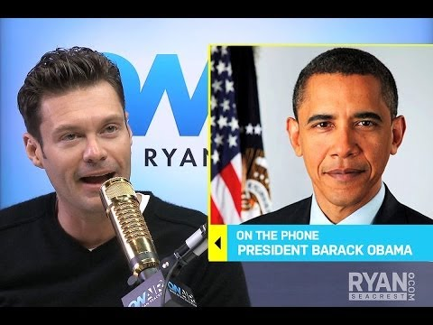 President Barack Obama On Zach Galifianakis I Interview I On Air with Ryan Seacrest