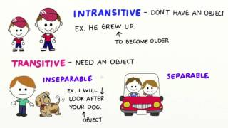 Phrasal verbs and their use, Free English Video Lessons