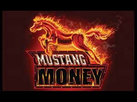 *HIGH LIMIT* Mustang Money $1 Denom 2 Bonuses BIG WINS!