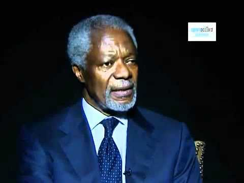 Interview with Kofi Annan - SportAccord Convention Dubai 2010