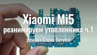 Утопленник Xiaomi Mi5 ч.1: качество сборки и советы мастера - China Service