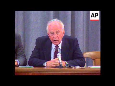 Russia - Rabin Meets Chernomrydin In Moscow