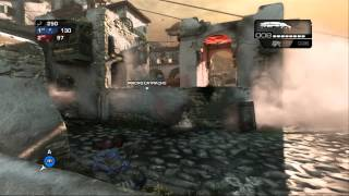 Gears of War Judgment Domination Gameplay with Mummy skin