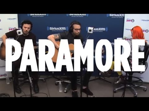 "Paramore ""Still Into You"" On SiriusXM Hits1"