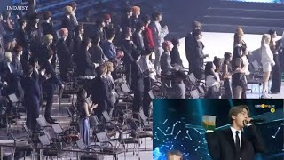 All artists twice, redvelevet reaction to BTS idol ending The fact music awards 2019