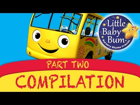Nursery Rhymes Compilation By Littlebabybum - Part 2 video