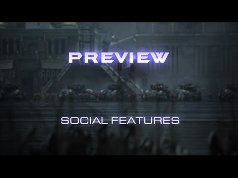 StarCraft II: Heart of the Swarm Preview -- Social Features
