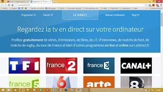 Regarder la TV en direct sur internet (ordinateur, téléphone, tablette)