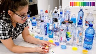 I Tested The PH of EVERY BOTTLED WATER