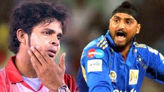 Harbhajan Slapping Sreesanth Incident In IPL 8 - Fights Between Players- Spot Fixing