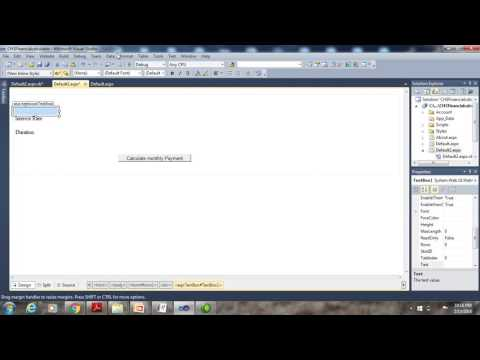 Tutorial3 ASP NET WEB PROGRAMMING
