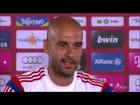 Pep Guardiola zum Duell mit Borussia Dortmund: