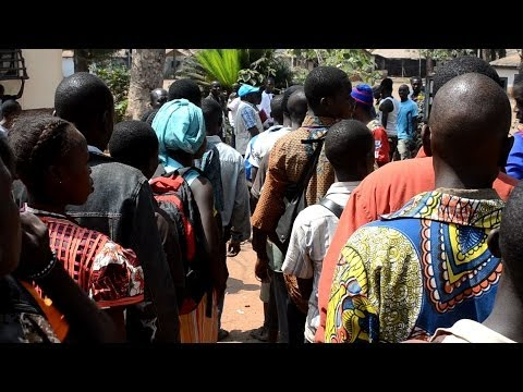 Children released from armed groups in the Central African Republic