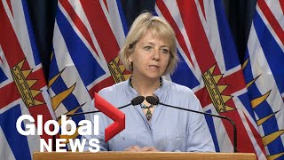 HL: Coronavirus outbreak: B.C. health officials report 4 new COVID-19 cases, no new deaths | FULL