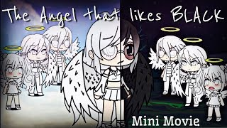 The Angel That Likes Black | Mini Movie | Gacha Life ❤️