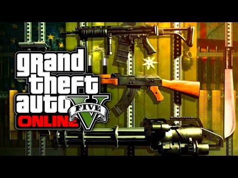 GTA 5 Online: BEST Guns To Use! - All Weapons In Depth Review (GTA V)