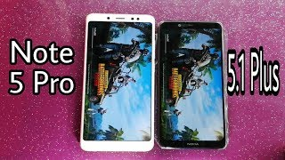 Nokia 5.1 Plus vs Mi Note 5 Pro Speed Test Comparison
