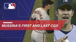 A look at Mussina's first and last complete games