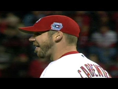 2006 WS Gm3: Carpenter shuts out Tigers through eight
