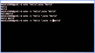 Shell Script Basics - 2012