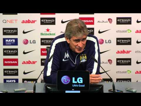 PELLEGRINI PREVIEWS SPURS | City v Spurs press conference part 1