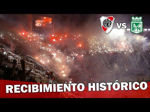 EL MEJOR RECIBIMIENTO DEL MUNDO - River Plate vs Atlético Nacional - Copa Sudamericana 2014