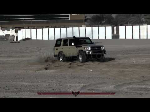 Armoured Toyota Land Cruiser 76 | Armoured Vehicles In South Africa | UAE | Angola | Libya