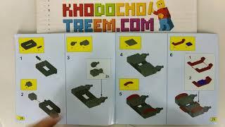 Hướng dẫn lắp ráp Bela 10060 Lego Chima 70012 Razar's Chi Raider giá sốc rẻ nhất