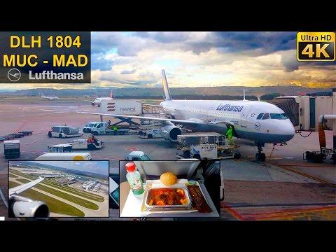 Flight Experience | Munich - Madrid | LUFTHANSA Full Flight