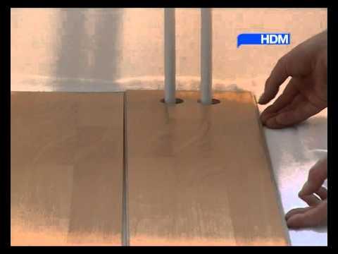 укладка ламината своими руками пошаговая инструкция ютуб - фото 2