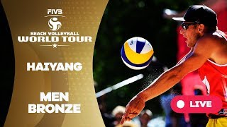 Haiyang 3-Star - 2018 FIVB Beach Volleyball World Tour - Men Bronze Medal Match
