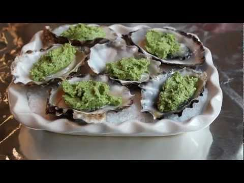 Oyster Rockefeller - Oysters Baked with Herb Butter - Special Holiday Appetizer