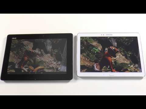 Asus Transformer Pad TF701T vs. Samsung Galaxy Note 10.1 2014 - Benchmark Vergleich