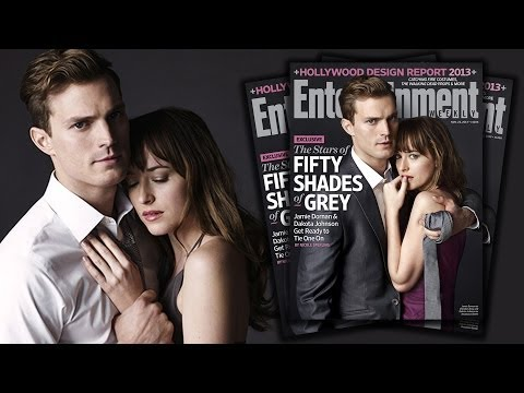 Christian Grey And Anastasia Steele In Fifty Shades Movie - First Photos! video