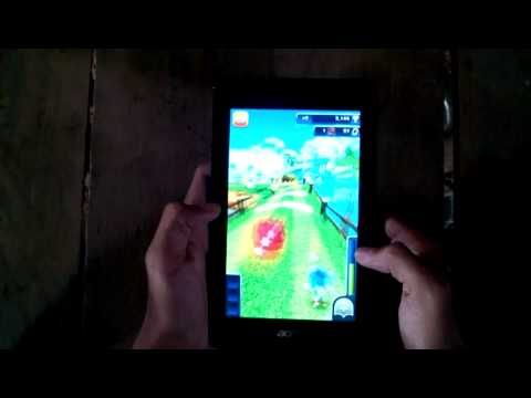 Test Tablet Acer iconia one b1 730 HD 2014 new.